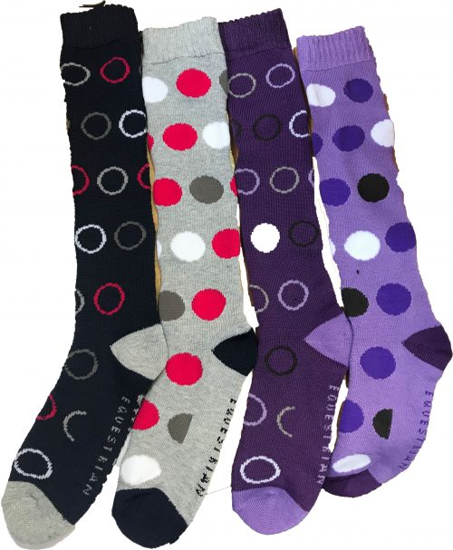 Storm Bloc Ladies Midweight Knee High Socks 2 Pair come in 2 Colours