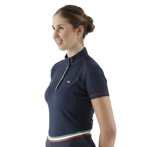 Premier Equine Glada Technical Long Sleeved Training Top Navy or WIne